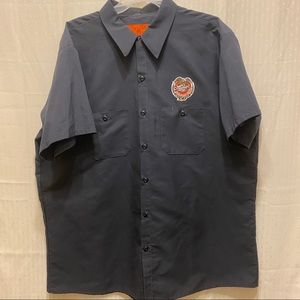 Shirts - Miller brewing company dickie style shirt